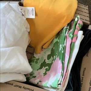 Womes sz 8 clothes lot name brands